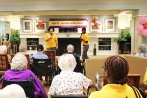 World Mission Society Church of God in Louisville, volunteering at atria senior living, East Coast Volunteer Service Day 2016, wmscog kentucky