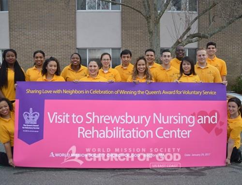 Shrewsbury Nursing and Rehabilitation Center Visit