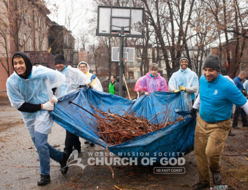 """Mother's Street"" Cleanup in Newburgh"