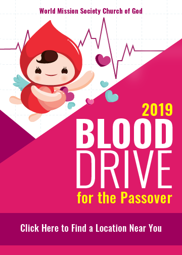mega blood drive for the passover
