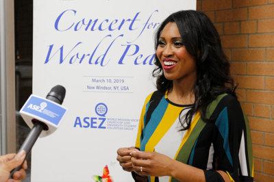 ASEZ, wmscog, world mission society church of god, New Windsor, NY, concert, reduce crime, volunteerism, music, world peace, UN, United Nations, Sustainable Development Goals, SDGs